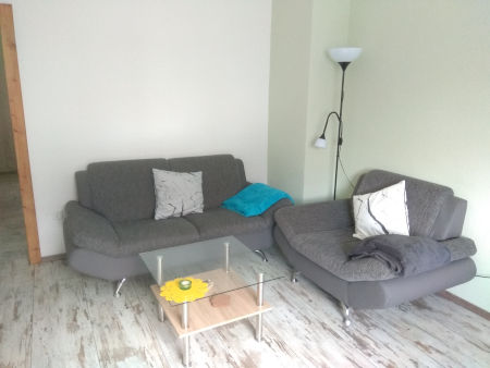 Bild: Sitzecke Wohnzimmer