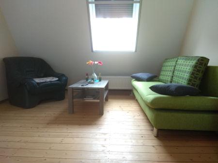 Bild: Sitzecke Doppelzimmer oben